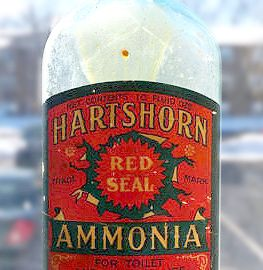 Am hartshorn bottle